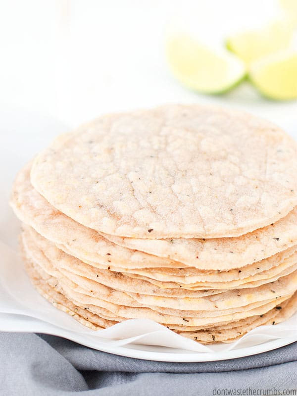 Cassava flour tortillas can be expensive when you buy a pack at Whole Foods. Fortunately you can make your own and save quite a bit of grocery money!