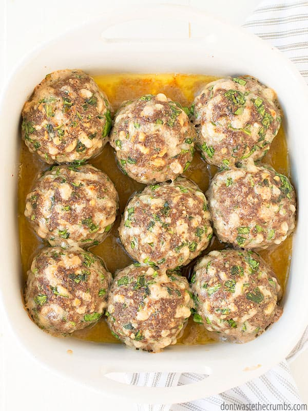 When your kids ask for giant meatballs, you can make them! It's SO FUN and EASY!
