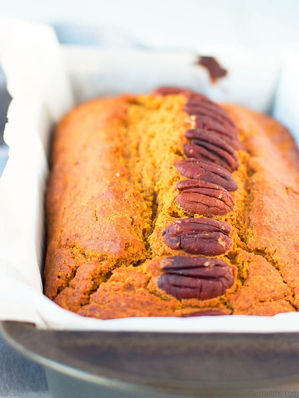Wow the in-laws with this delicious healthy pumpkin bread recipe! Make this before you next holiday gathering and your family will love it.