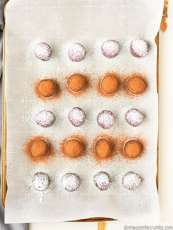 These no bake brownie bites are EASY and healthy and allergy friendly!