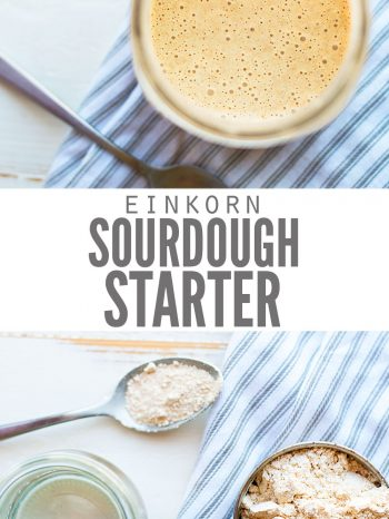 einkorn flour sourdough starter