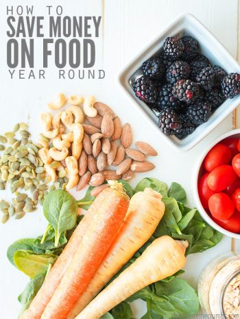 36 ways to save money on food to help slash your food bill and groceries. The best way to save money on real food all year round! : : DontWasteTheCrumbs