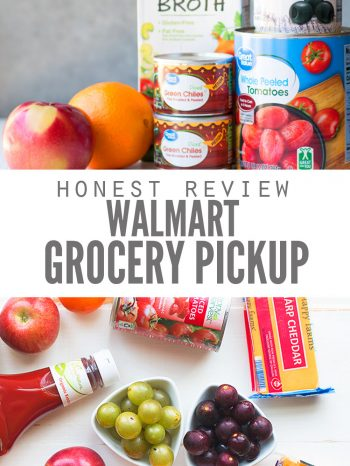 honest review of Walmart Grocery Pick Up