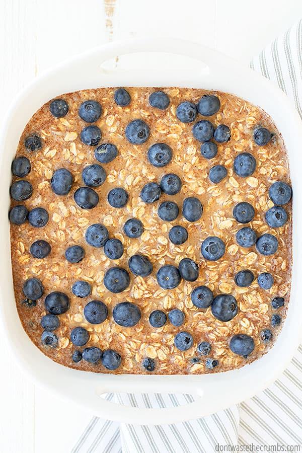 oatmeal baked
