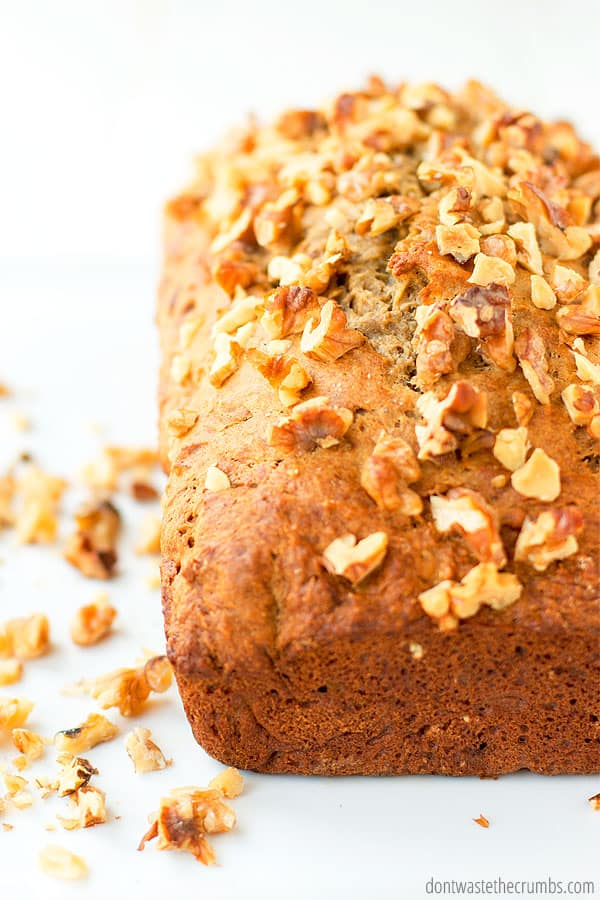 how to cook banana bread