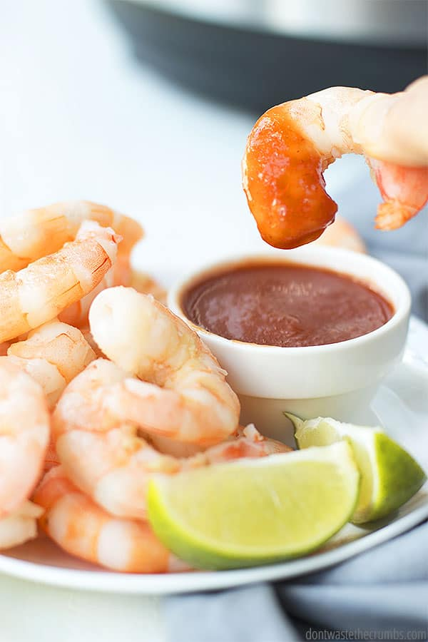 When to cook shrimp
