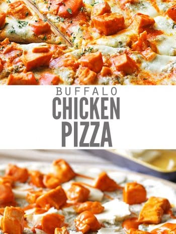 Best Ever Buffalo Chicken Pizza Recipe Don T Waste The Crumbs