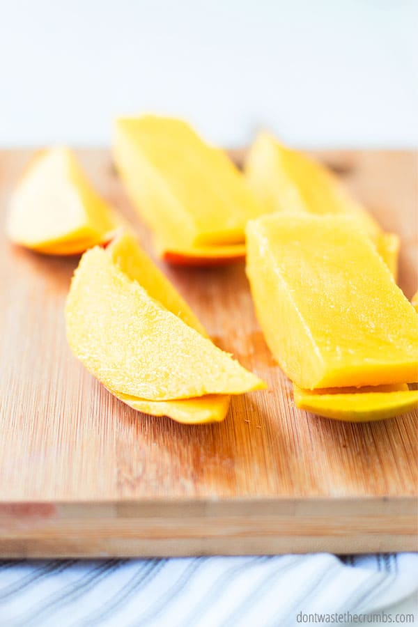 when is the best time to cut a mango