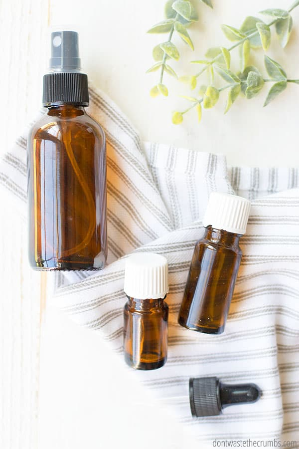 Using essential oils for household and cleaning products helps you save