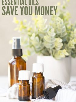 Using essential oils can SAVE money by not having to buy things like cleaning supplies or personal care items. Even making one thing makes a difference! :: DontWastetheCrumbs.com