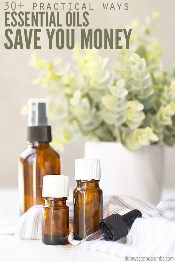 Learn how essential oils are practical and can save you money