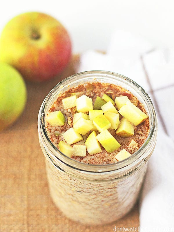 Overnight oats are a delicious addition to your morning menu plan! Easy to make the night before, your breakfast is ready to go in the morning!