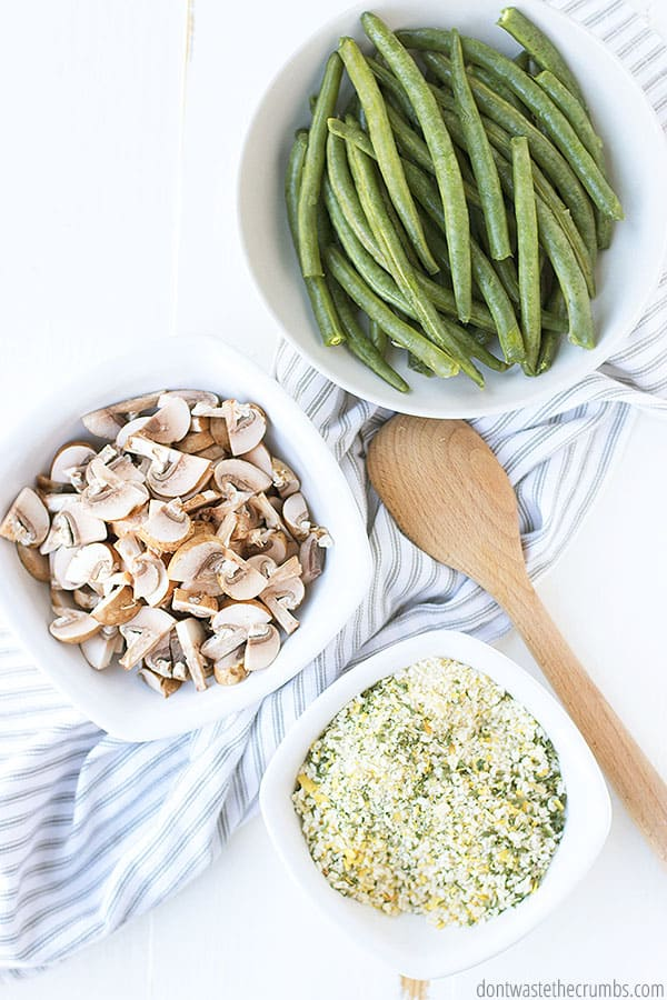 This is the best green bean casserole recipe. It can be made ahead, to make meal time a breeze.