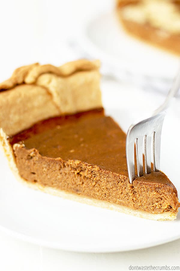You can use homemade or canned pumpkin puree, and homemade pumpkin pie spice for this recipe.
