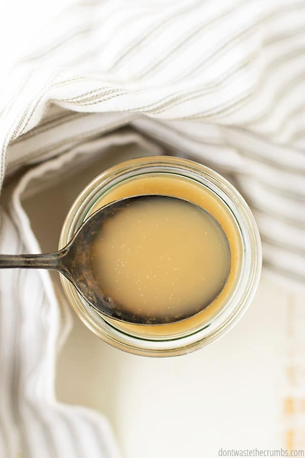 Make your own sweetened condensed milk with this easy DIY tutorial!