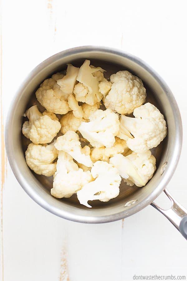 Cauliflower is all the rage and this creamy cauliflower sauce is part of it! You should NOT skip this!