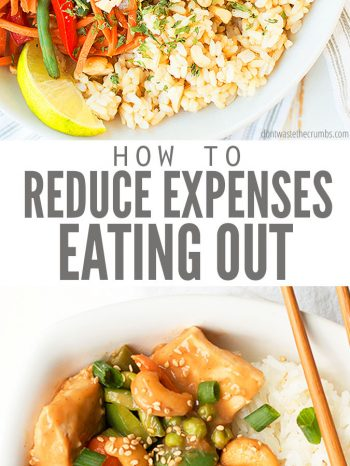 Learn these 3 Tips to Reduce the Cost of Eating Out, including ideas on budget planning, and great ways to track your savings