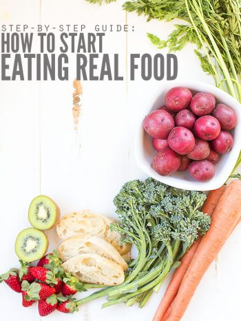 Join our FREE 30-Day Challenge and learn How to Start Eating Real Food in our Real Food Reboot.