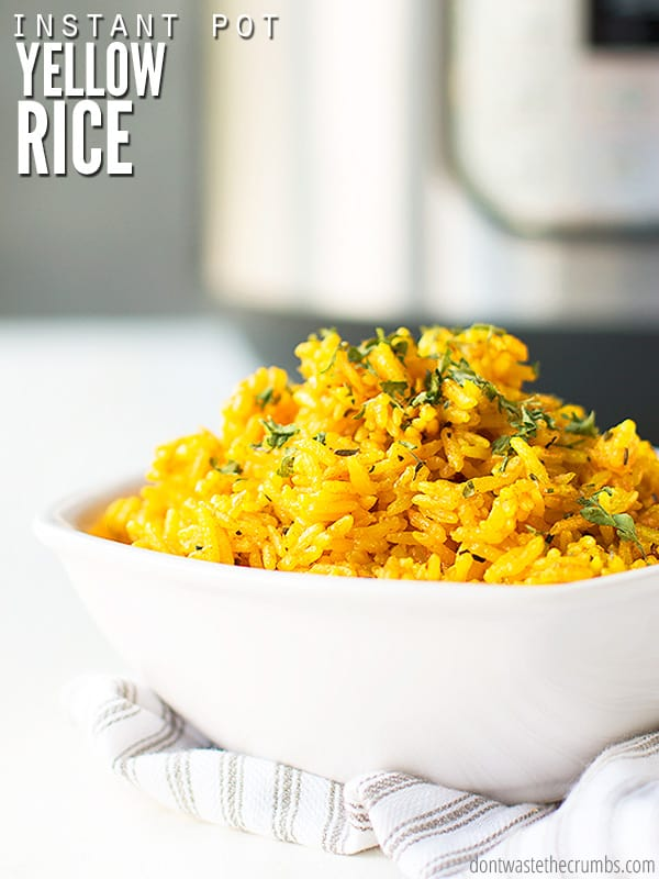 Best Easy Instant Pot Yellow Rice Made From Scratch
