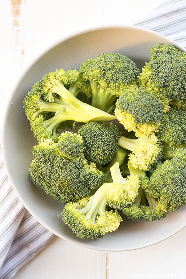 Broccoli is nature's winter green, full of nutrients for in season eating in January!