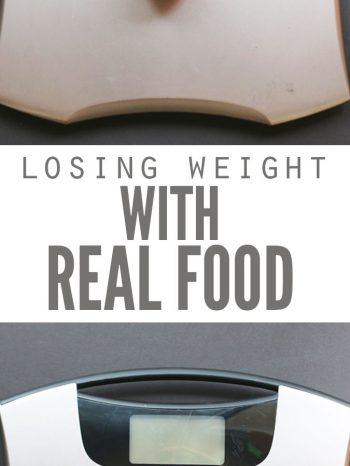 "Losing weight with real food isn't complicated. These 4 reasons explain why real food supports healthy weight loss over typical ""diet"" food on the market."