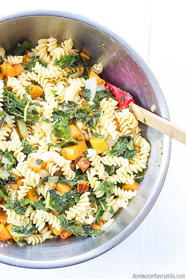 Y'all. Butternut squash pasta bake is the BEST. Creamy, tasty, healthy, AND can be gluten-free too!