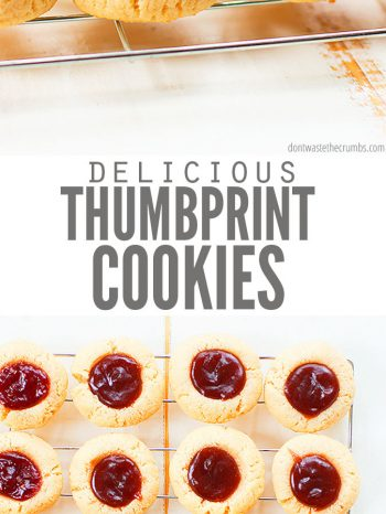 This healthy thumbprint cookies recipe is gluten free, naturally sweetened, and vegan-friendly! Almond flour gives these cookies a sweet, nutty flavor.