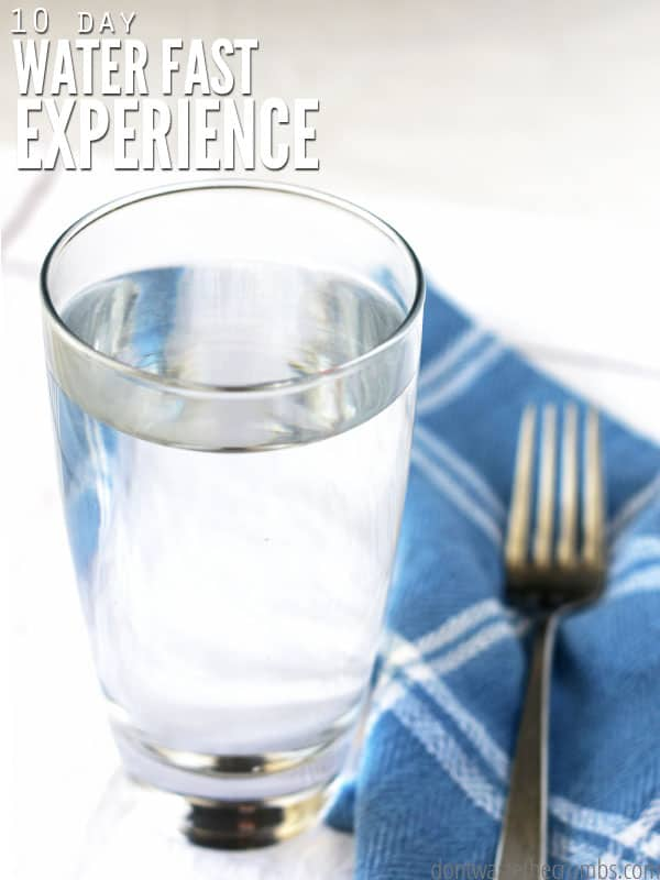 Learn about how to do a water fast. I share my husband's personal experience and results, plus other great tips to detoxify the body.