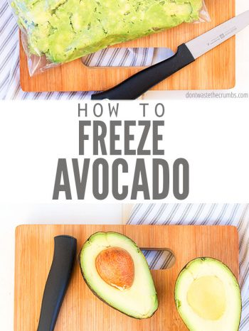 Learn How to Freeze Avocado with this super convenient and easy method. Uses only 2 ingredients, peeled avocados and lime juice. Freezes for up to 3 months and is perfect for spreading on toast or making guacamole!