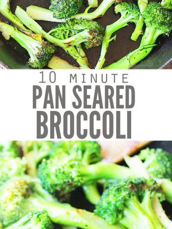 Pan-roasted broccoli