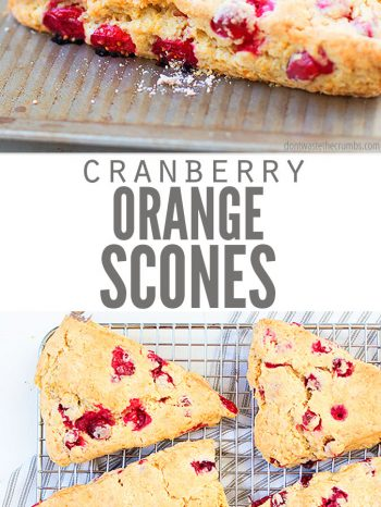 Try this easy and healthy recipe for Cranberry Orange Scones. Uses whole wheat Einkorn flour and coconut sugar. Can even be made dairy-free! Enjoy with a hot cup of coffee using our Homemade Vanilla Bean Coffee Creamer.