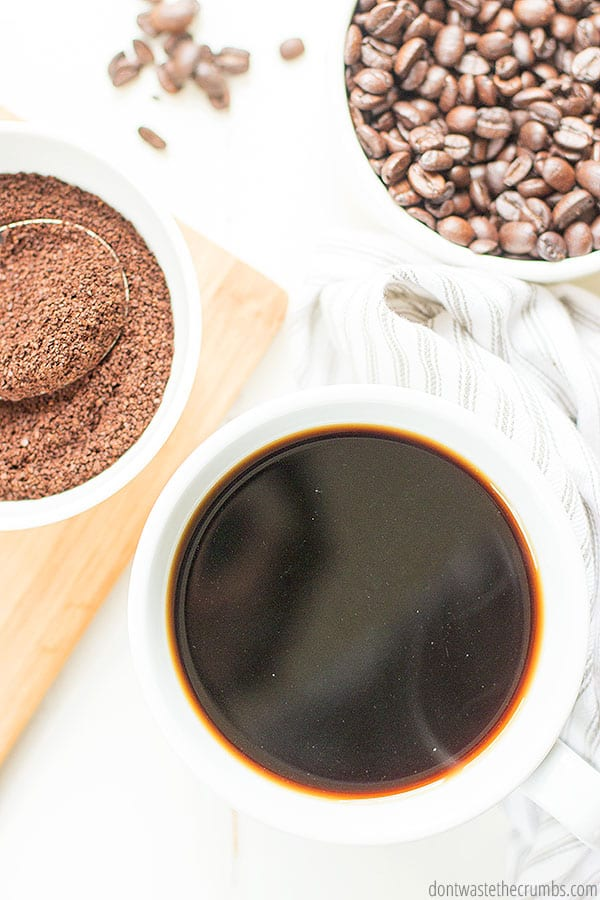 In order to save money on coffee, you can buy your coffee beans in bulk, 2-5 lbs at a time. This way you'll save money while keeping your beans fresh.