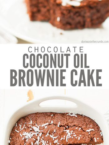 Try this delicious Chocolate Brownie Cake that tastes rich and fudgy like a brownie, but feels light and fluffy like a cake! Serve with fresh fruit or frost as a traditional cake. Makes a great dessert for family suppers such as our Whole Roasted Chicken, or Taco Night.