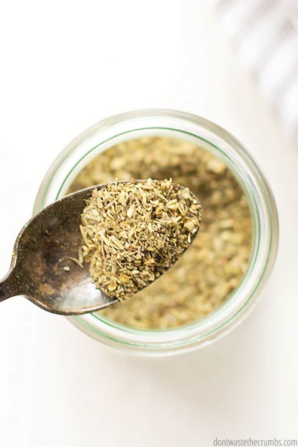 Don't have Italian seasoning on hand for a recipe? Substitute with this homemade blend!