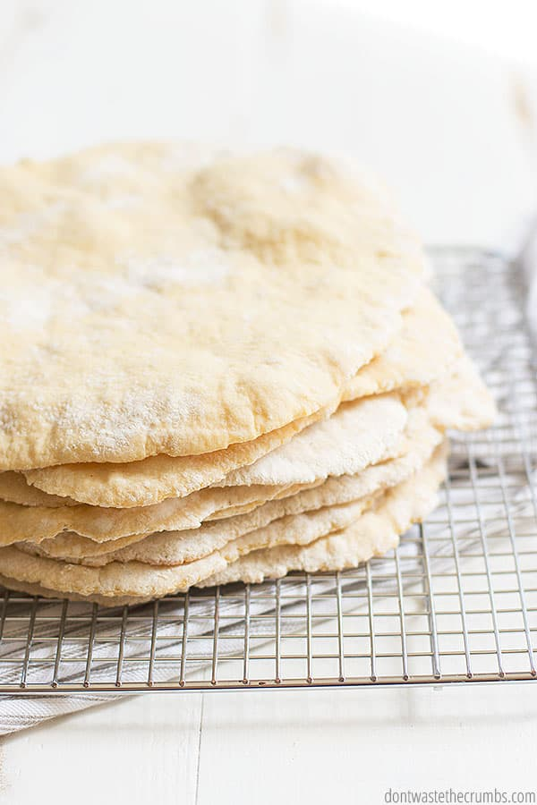This quick pita bread recipe can be made with regular flour or whole wheat flour. You can even use Einkorn flour!