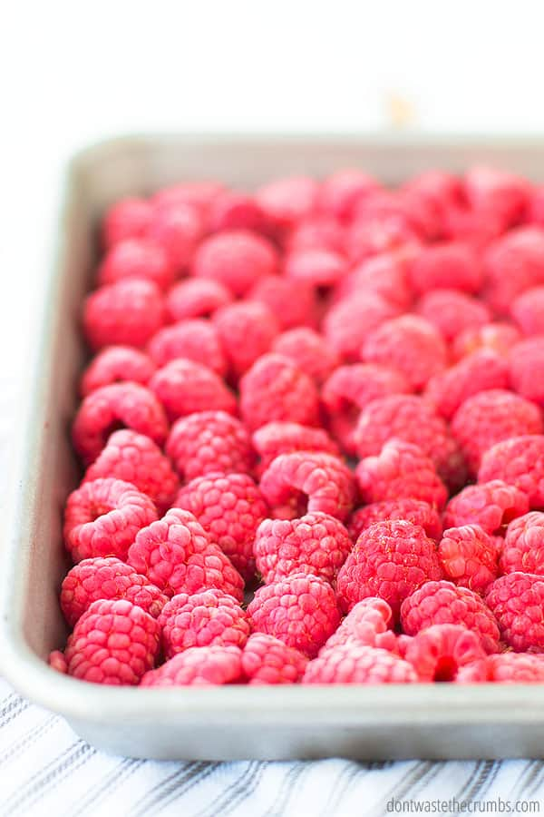 Frozen berries are fantastic for making things like pies, jam, and more! You can also use them to top desserts or breakfast dishes.