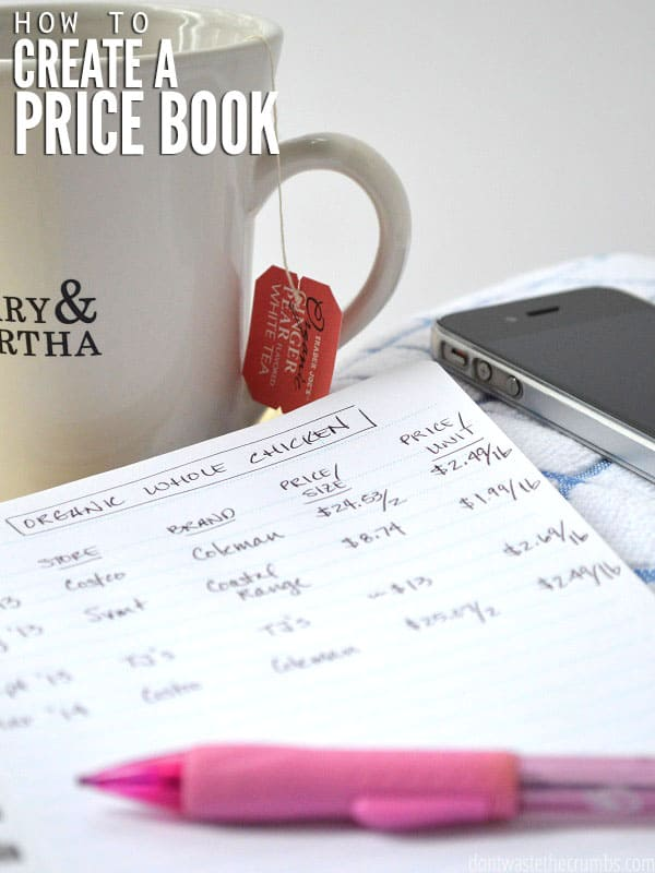 This simple budget tip - creating a a price book - can be a tremendous help in seeing trends and the true cost of items. Here are step by step instructions for creating & using one of the best money saving tips out there!