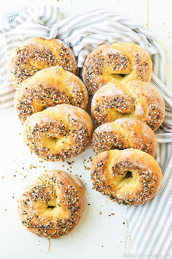 Making homemade bagels at home is now easier than ever with this simple and quick 2-ingredient no yeast bagel recipe.