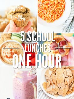 Healthy school lunch menu ideas for kindergarten, high school, teenagers - kid friendly for all ages and picky eaters! Can be hot or cold, plus recipes! :: DontWastetheCrumbs.com