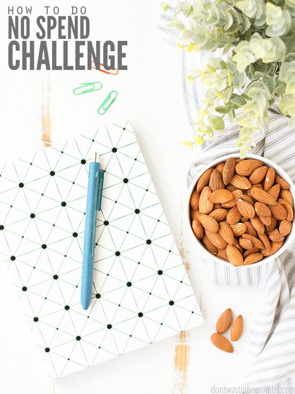 A No Spend Challenge is great for the budget, but what is it and how do you start? Get the simple rules and game plan for a successful fiscal fast.