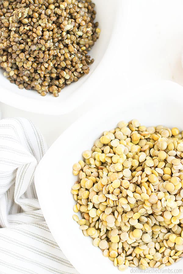 Looking for a great lentil recipe? This recipe can be made in the Instant Pot or on the stove top. It is filled with great flavors as the lentils marinate, making it a delicious easy dish.