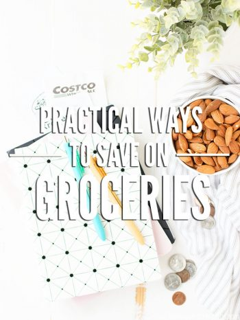 5 Practical Ways to Save Money on Groceries. Simple tips that work for any family, any budget. Use every week to trim food costs and stick to your budget. :: DontWastetheCrumbs.com