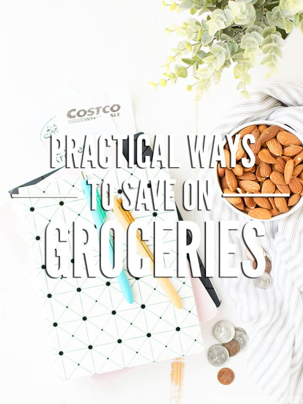 Money saving tips for saving money on groceries NOW. Many budget tips take awhile before you see the results. These money saving tips are practical ways to save money on groceries right now - it's savings you can actually see on the receipt, and save at the bank!