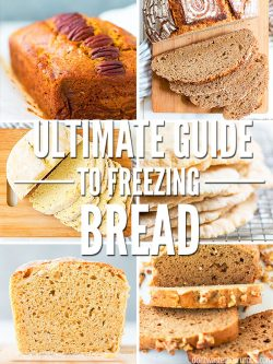 Enjoy this Ultimate Guide to Freezing Bread. Learn the steps to freezing unbaked and freshly baked goods for meal planning ahead! :: DontWastetheCrumbs.com