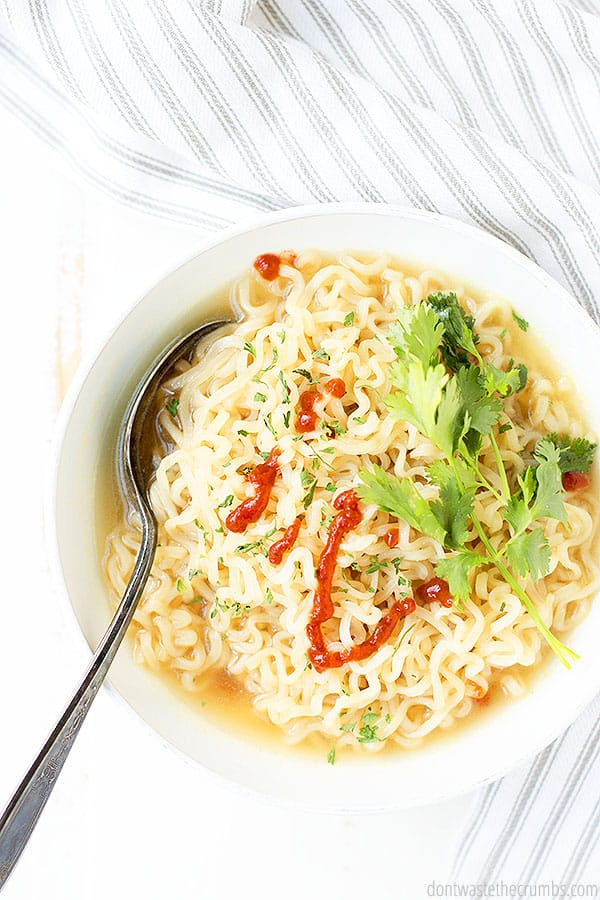 This recipe is versatile. You can make chicken ramen, vegetarian ramen, and so many other variations!