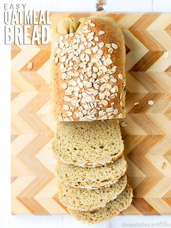This Very Little Bother Oat Bread recipe will give you the most delicious, tasty, moist and fluffy bread you've ever experienced! Easy recipe for the novice : Dontwastethecrumbs