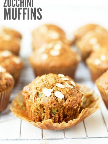Hands down, our favorite breakfast muffin recipe during the summer - zucchini muffins with apples and carrots! It's an easy recipe, and clean eating with only natural sweeteners. Even the pickiest kids will love these for breakfast, as snacks and even for lunch! Yes, I said lunch! :: DontWastetheCrumbs.com