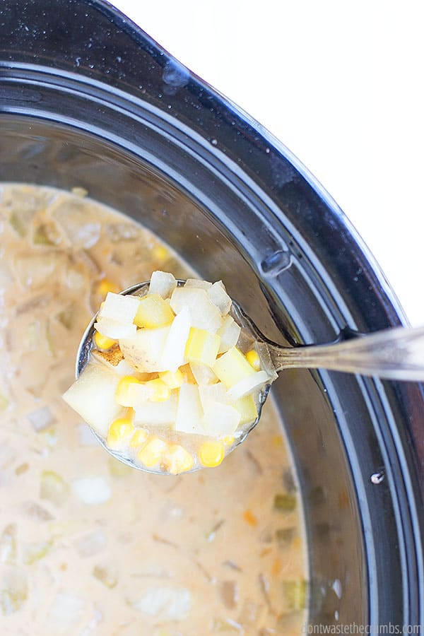 Once my Creamy Cauliflower Sauce or heavy cream is added to the slow cooker Mexican soup, it is enlivened to a whole new delicious and velvety level.