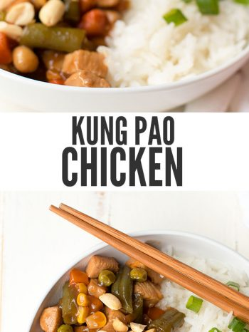 Better than Chinese takeout, Kung Pao Chicken with vegetables is easy to make and ready in just 15 minutes. Plus it's made with ingredients you have in the pantry! Serve with Instant Pot white rice!