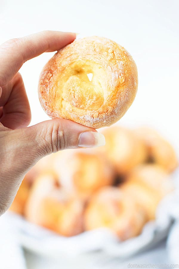 These homemade soft mini bagels are easy to make! You can flavor them how you like!